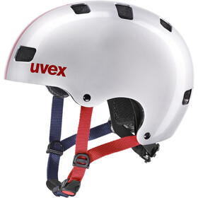 UVEX Kid 3 Helmet Kids race silver